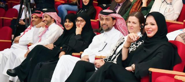 The event was attended by a number of QU officials including QU President Dr. Hassan Al-Derham